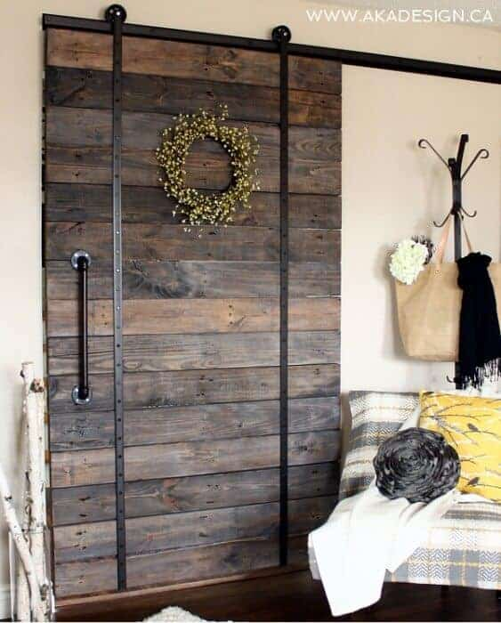 Upcycled Pallet Barn Door by AKA Design