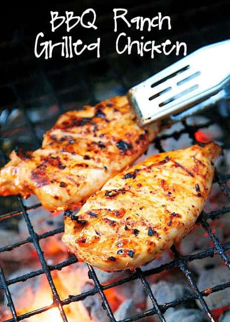 BBQ Ranch Grilled Chicken by Plain Chicken