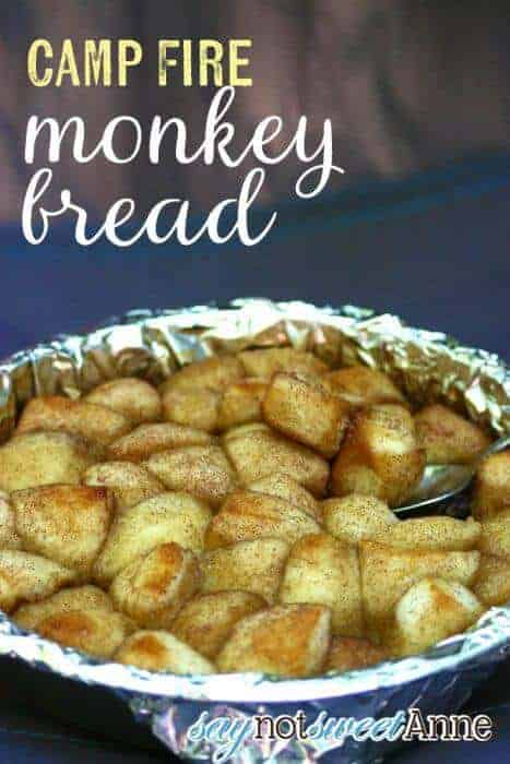 Campfire Monkey Bread by Say Not Sweet Anne