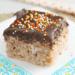 Chocolate Cake Rice Krispie Treats