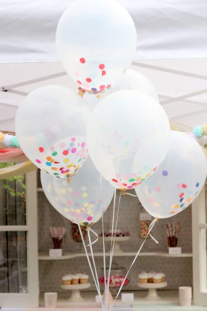 Confetti Balloons by Prudent Baby