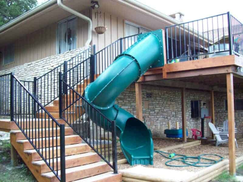 Deck Slide by New Braunfels Construction