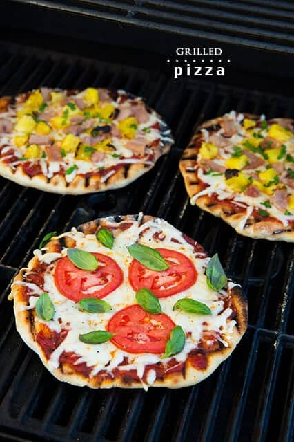 Grilled PIzza by Cooking Classy