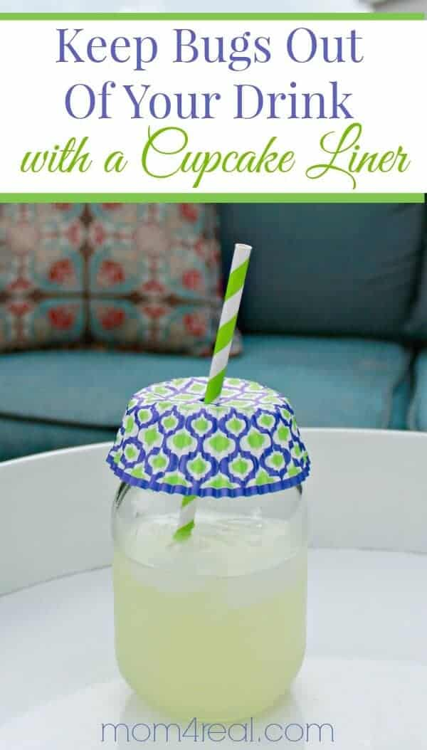 Keep Bugs Out of Your Drink by Mom 4 Real
