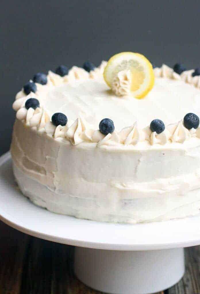 Lemon Blueberry Zucchini Cake Princess Pinky Girl