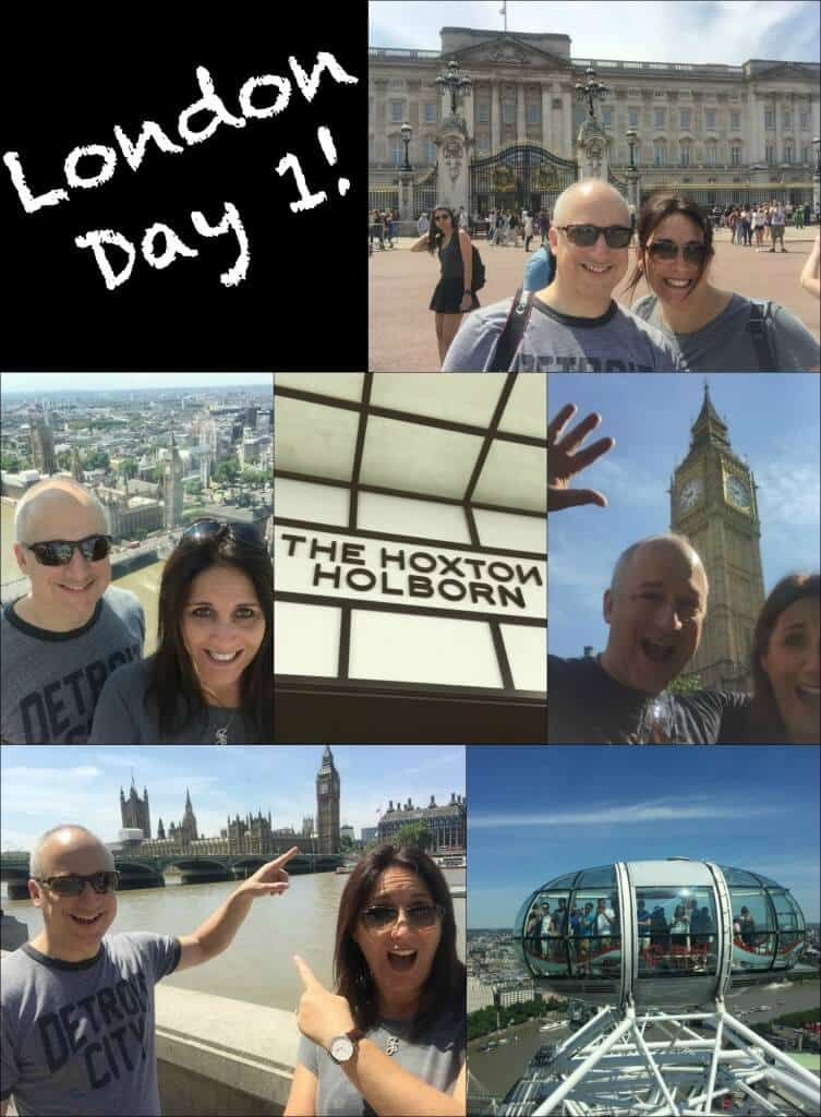 London Day 1