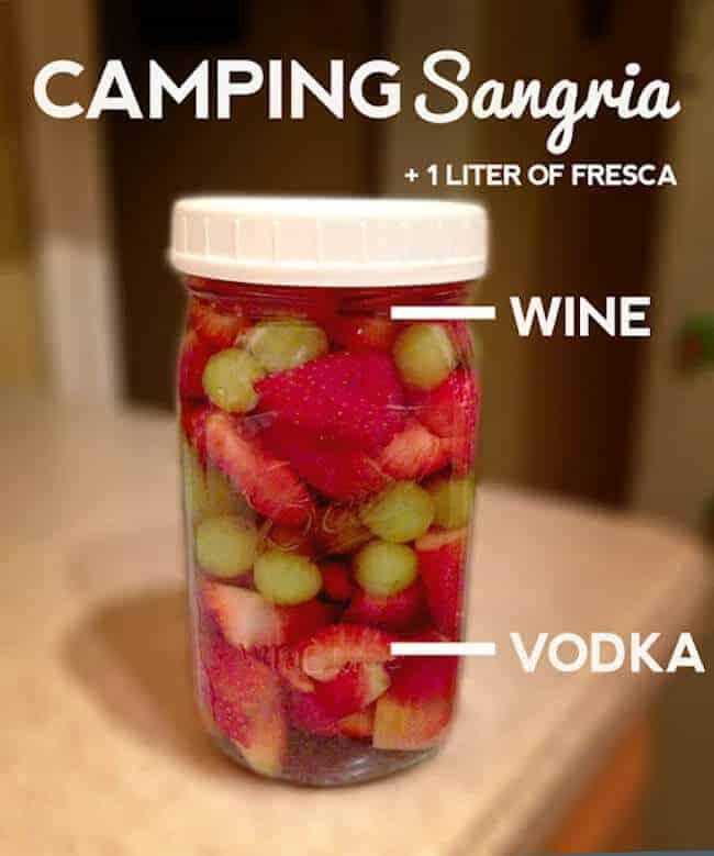Make Camping Sangria from The Mighty Mrs