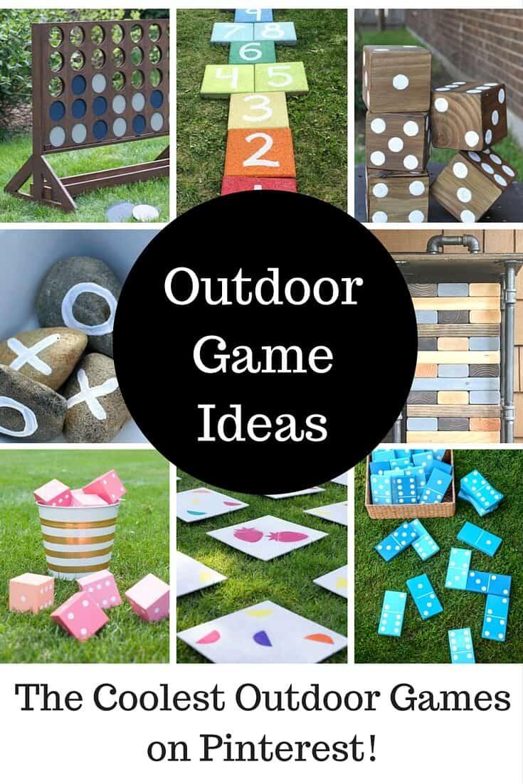 Cool Diy Backyard Ideas : Cool DIY Outdoor Game Ideas  Princess Pinky Girl