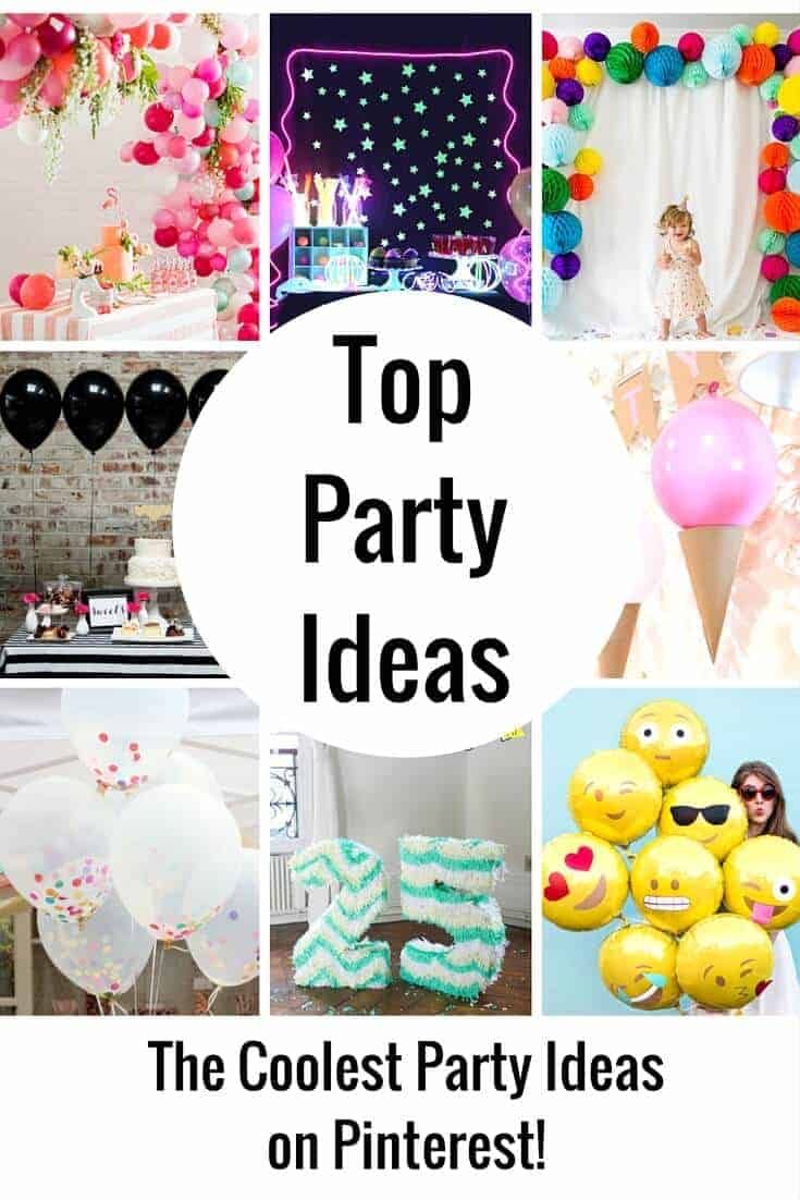 Top Party Ideas on Pinterest