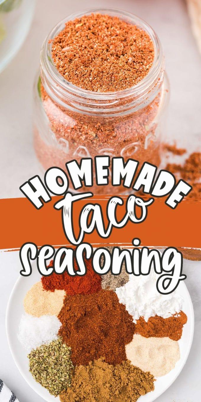 Homemade Taco Seasoning Pinterest