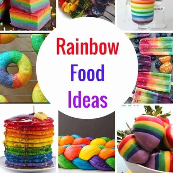 The Best Rainbow Food Ideas on Pinterest