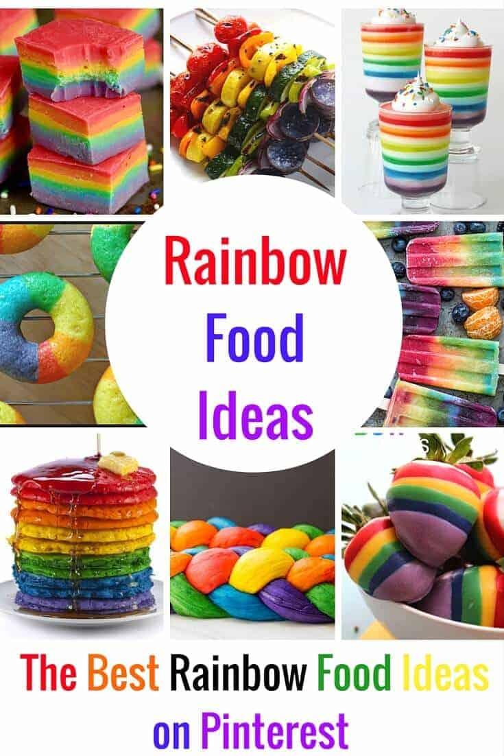 Colorful Rainbow Food Ideas Princess Pinky Girl