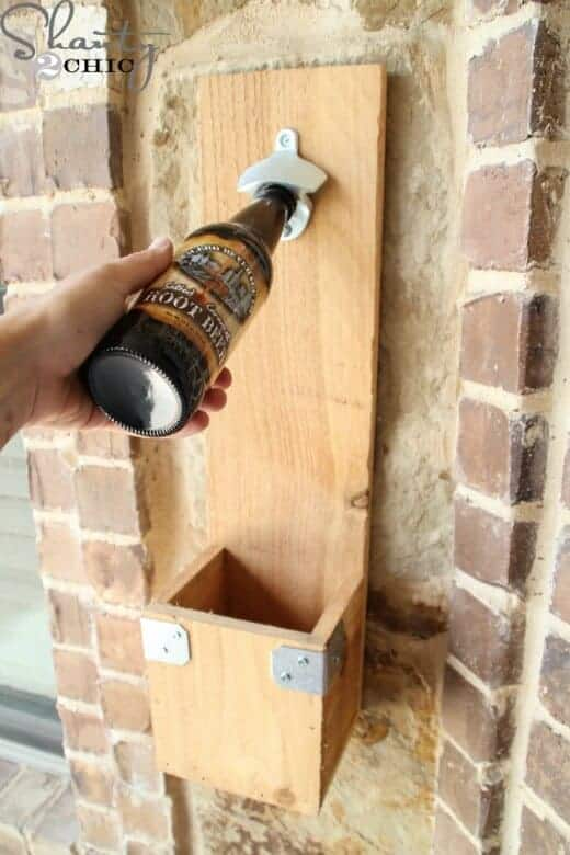 DIY Bottle Opener Father's Day Gift by Shanty 2 Chic