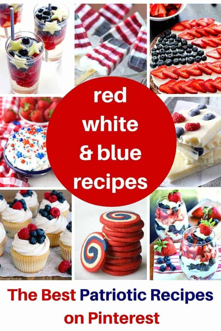 Red White and Blue Recipes that Wow!