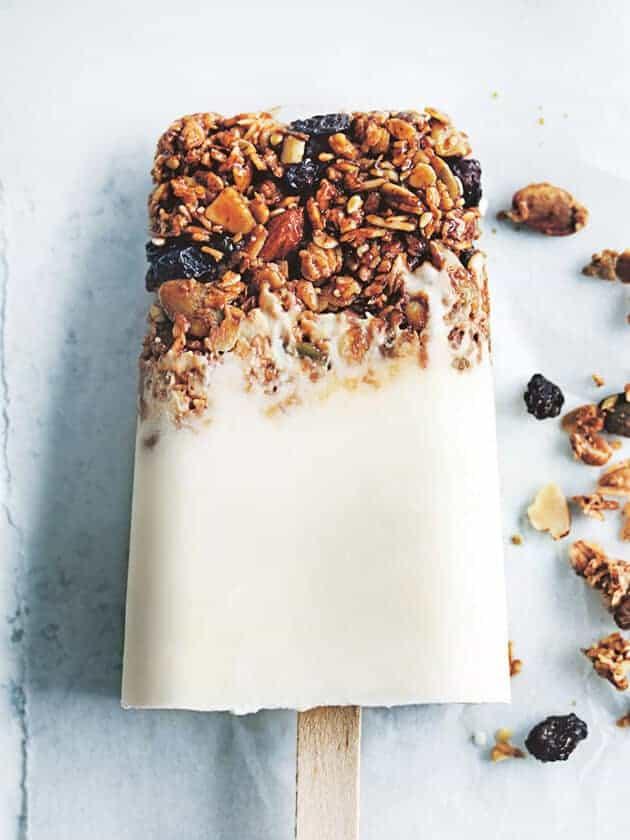 Yogurt Granola Popsicles by Donna Hay