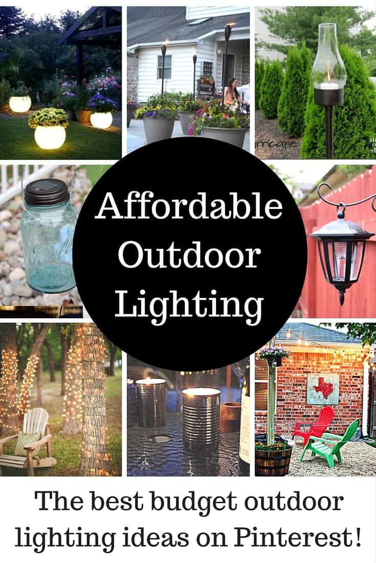 Affordable Outdoor Lighting Ideas