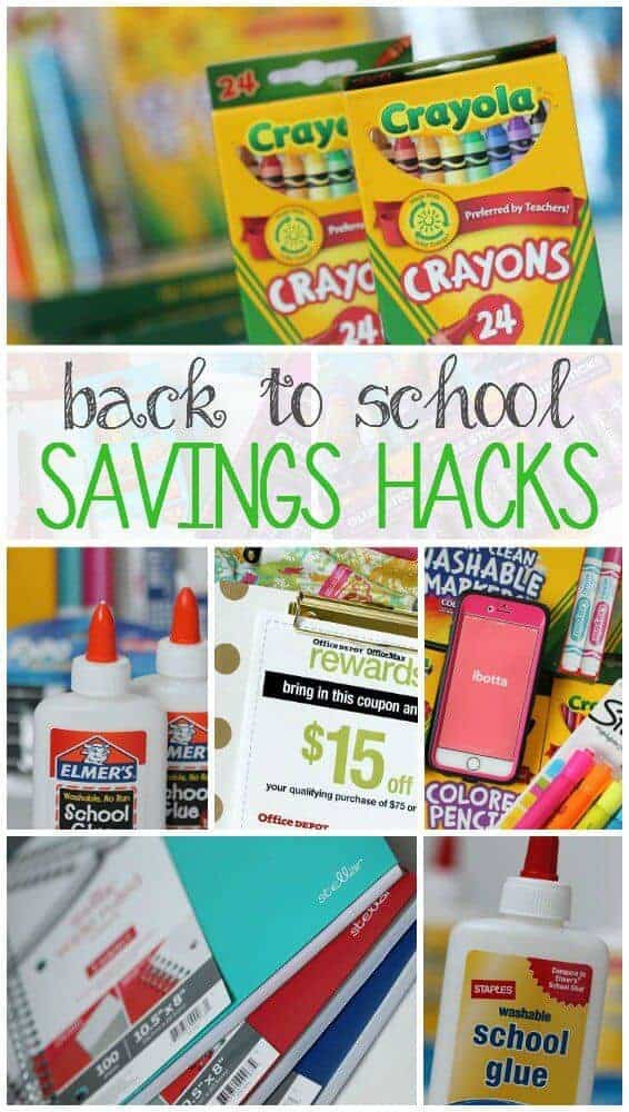 Back to School Savings by Passion for Savings
