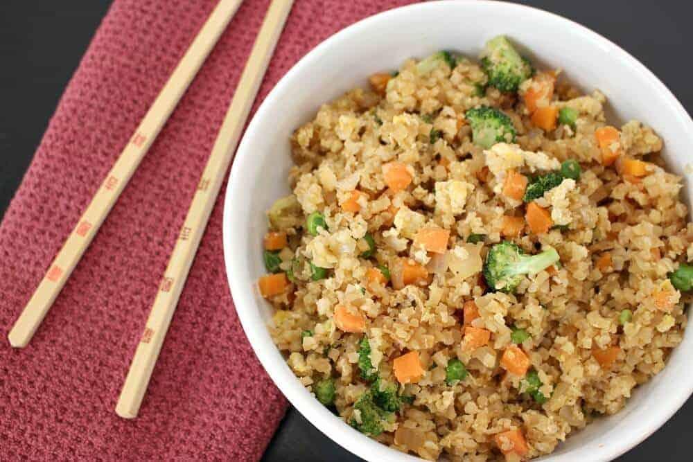 Cauliflower Fried Rice 2