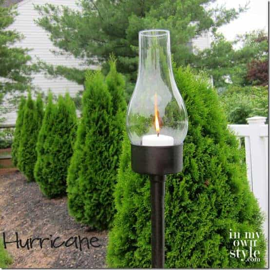 DIY Outdoor Hurrican Holder | In My Own Style