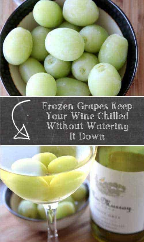 Frozen Grapes Hack | Positive Med and other genius party hacks and tips