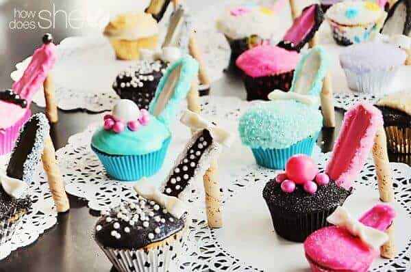 How to Make Cupcake Shoes by How Does She