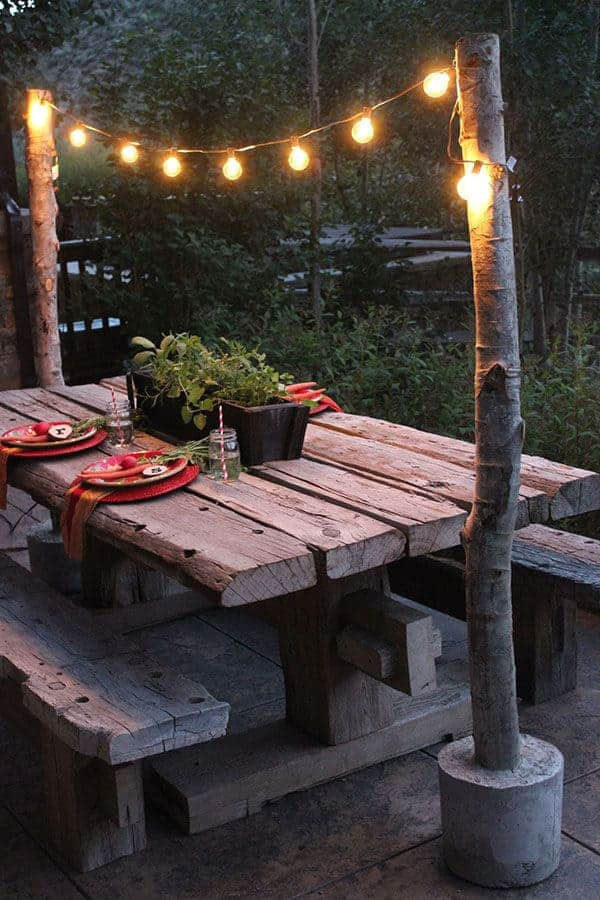 Affordable Outdoor Lighting Ideas Princess Pinky Girl