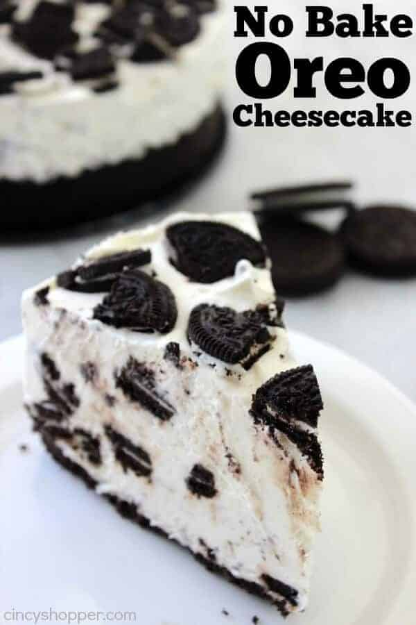 love Oreos, seriously love them and this No Bake Oreo Cheesecake by ...