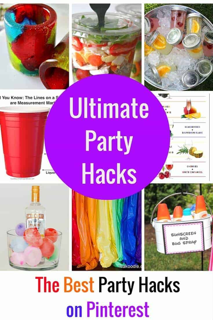The Best Party Hacks on PInterest