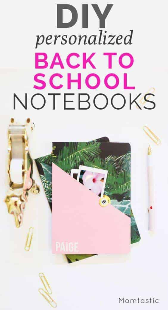 Personalized Notebooks | Momtatstic