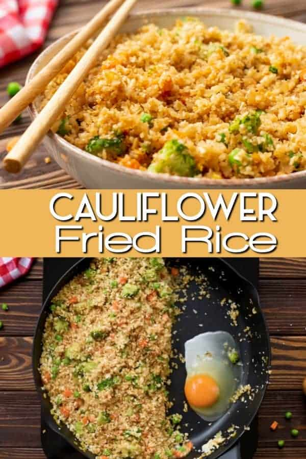 The best Cauliflower Fried Rice