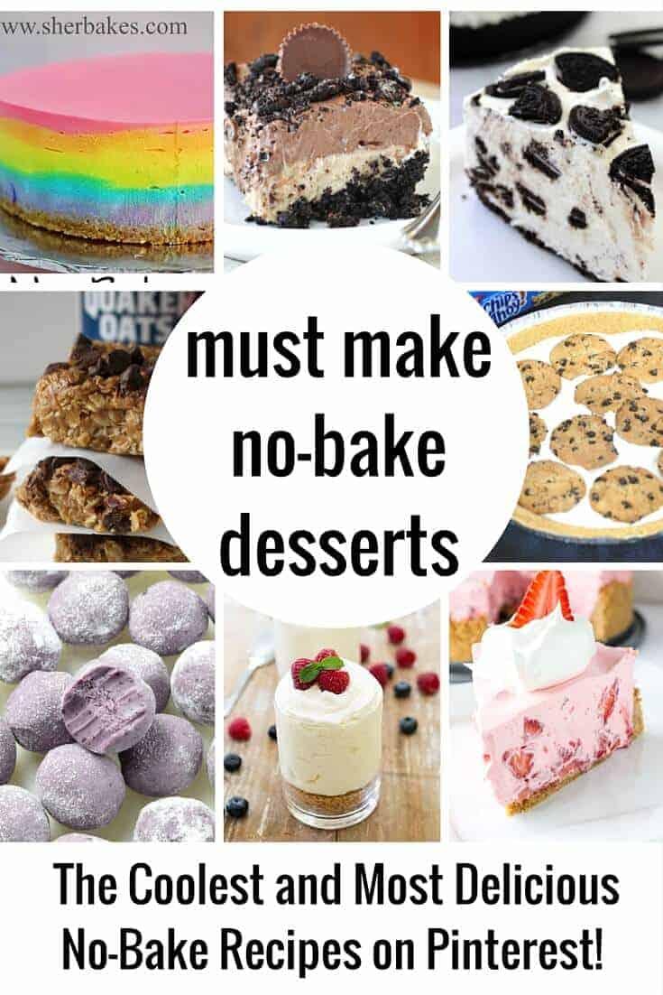 Top No-Bake Desserts on PInterest
