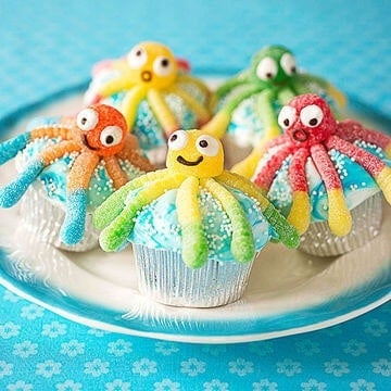 Under the Sea Cupcakes by Parents Magazine