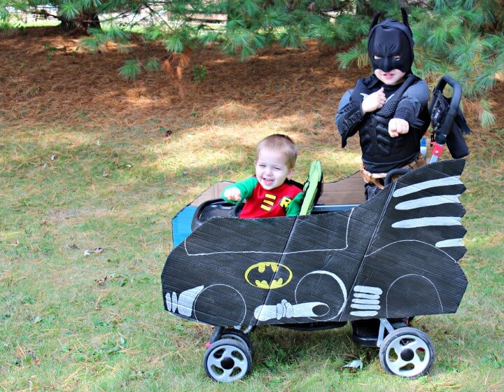 Batman and Robin Batmobile | Just a Girl and her Blog