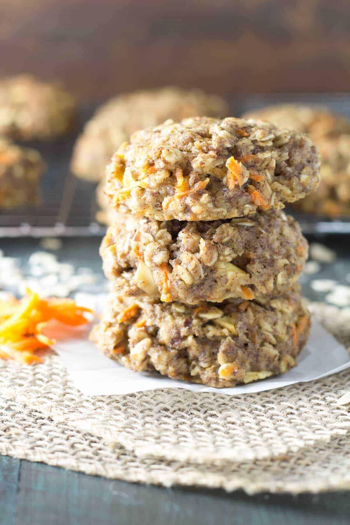 Carrot Cake Breakfast Cookies | Kristine's Kitchen