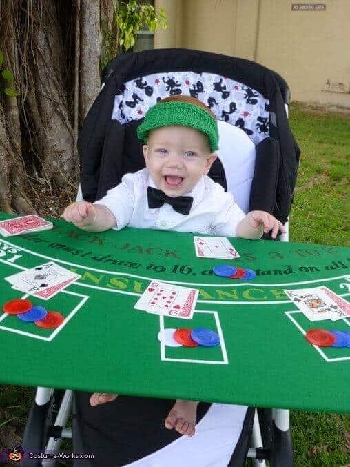 Casino Dealer Stroller Halloween Costume by Costume Works