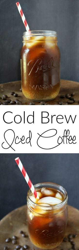 Cold Brew Iced Coffee - Better than Starbucks (and cheaper too)