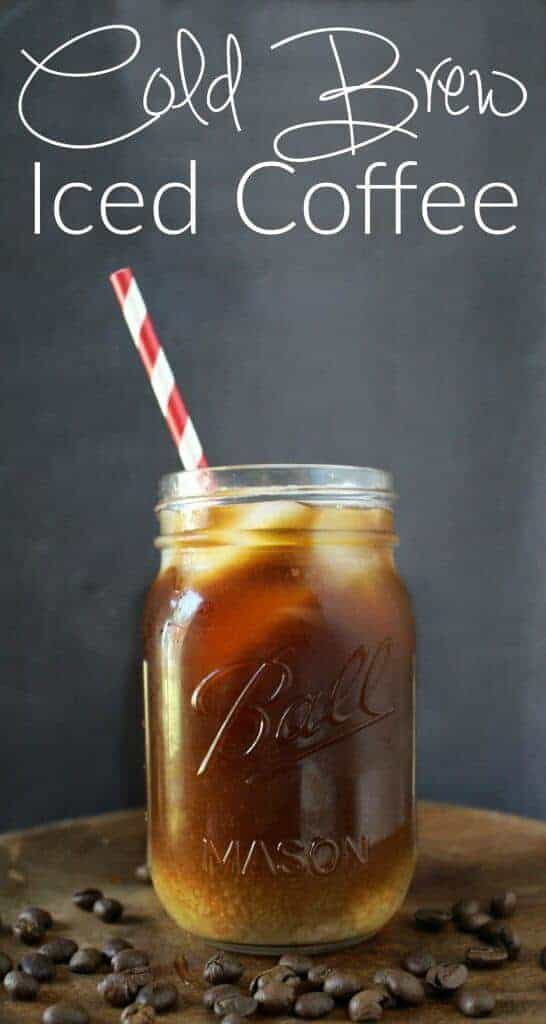 Cold Brew Iced Coffee - Even better than Starbucks (and cheaper too)