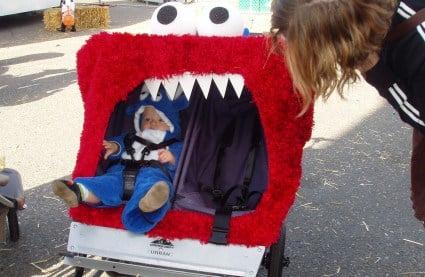 Elmo Halloween Stroller | Phinneywood