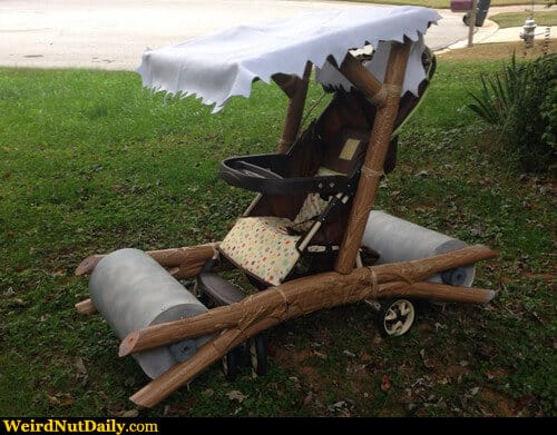Flintstones Stroller by Weird Nut