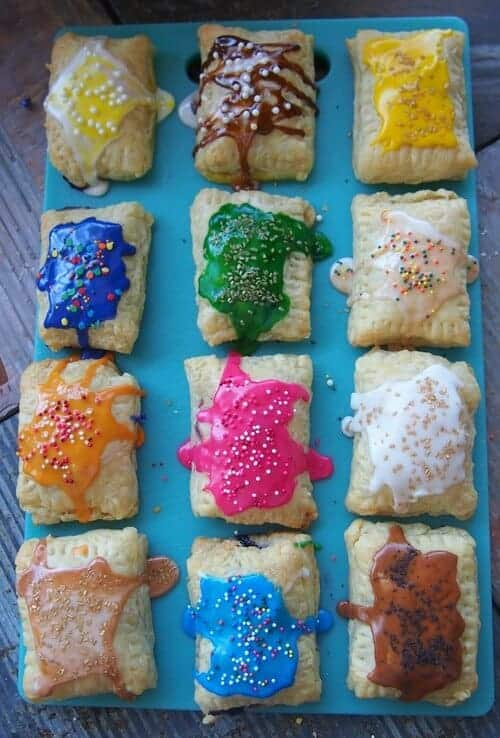 Lighter Homemade Pop Tarts by | Simply Taralynn