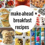 Make Ahead Breakfast Recipes | Princess Pinky Girl