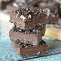 No bake oreo bar