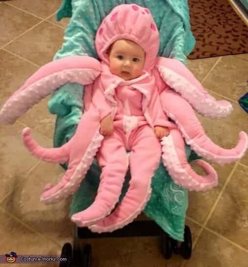 Octopus Stroller Halloween Costume | Costume Works