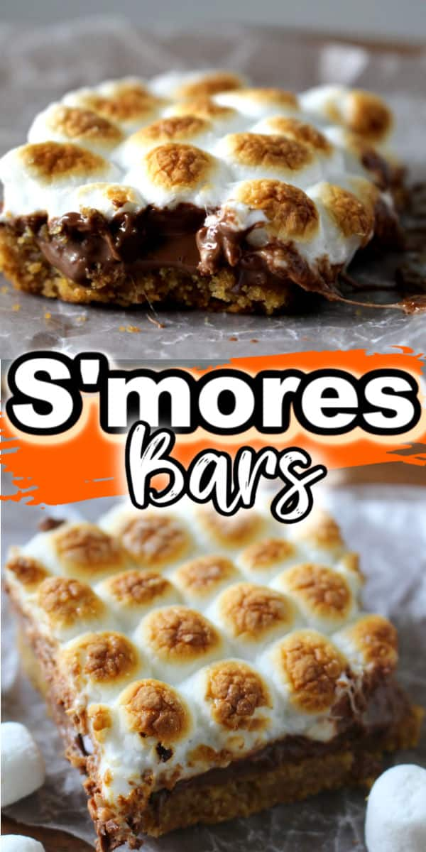 S'mores bars (copycat Starbucks recipe)