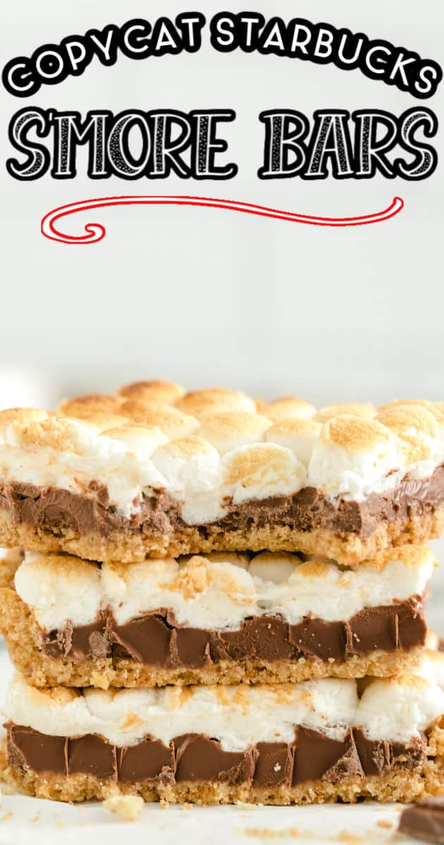s'more bars Pinterest
