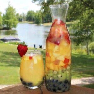 The Best Rainbow Sangria – a delicious and beautiful summer drink