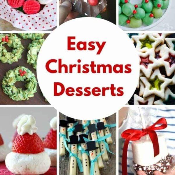 Easy Christmas Desserts