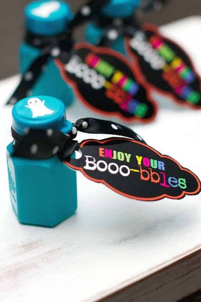 Boobles Free Printable Favor Labels by Tatertots and Jello