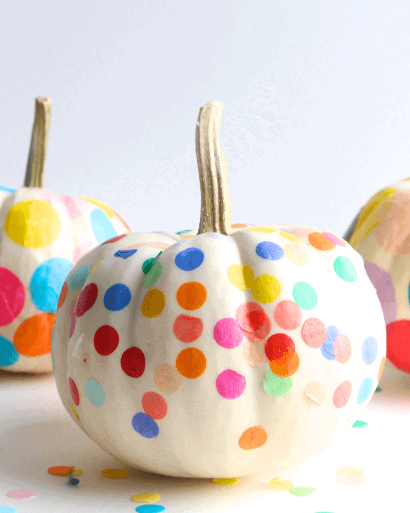 Confetti Pumpkins by Cloudy Day Gray