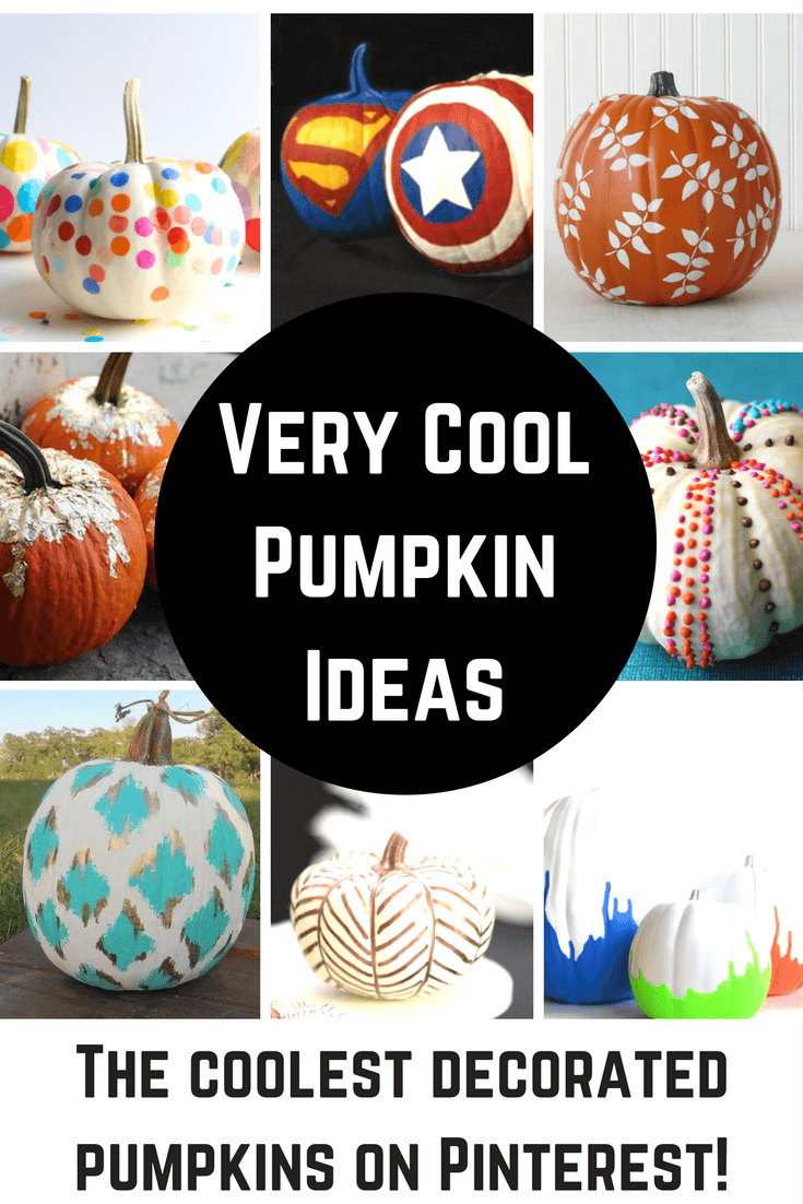 Very Cool Pumpkin Ideas